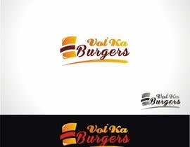 nº 14 pour Logo design for a burger cafe par evergrafix