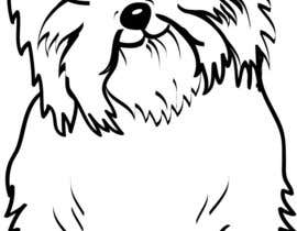 nº 20 pour Logo / Drawing / Illustration of a dog par debrajmaity