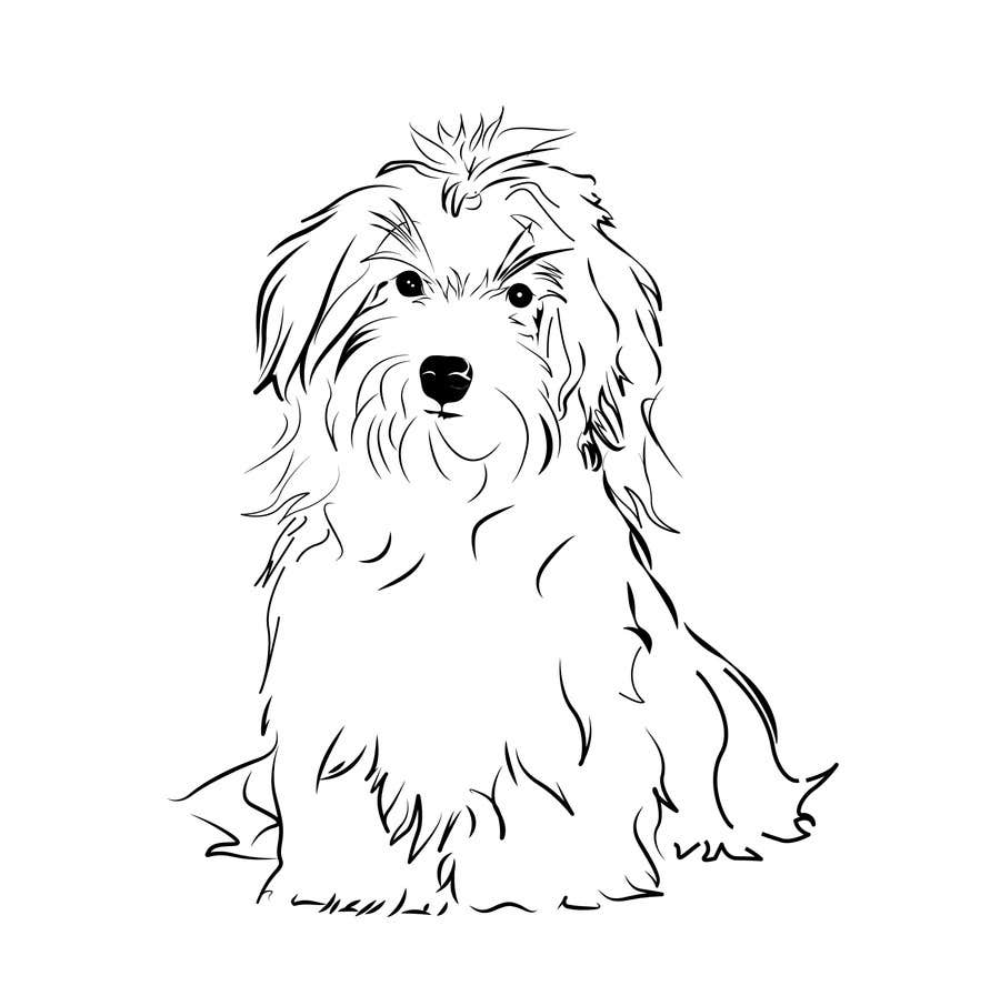 #43 for Logo / Drawing / Illustration of a dog by tedian