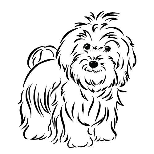 #31 for Logo / Drawing / Illustration of a dog by KathysDotCom