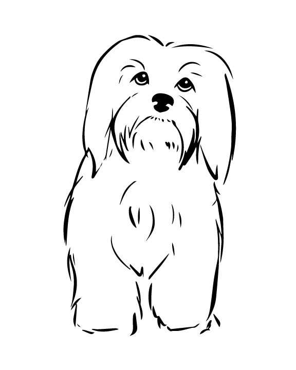 #5 for Logo / Drawing / Illustration of a dog by autumnlecuyer