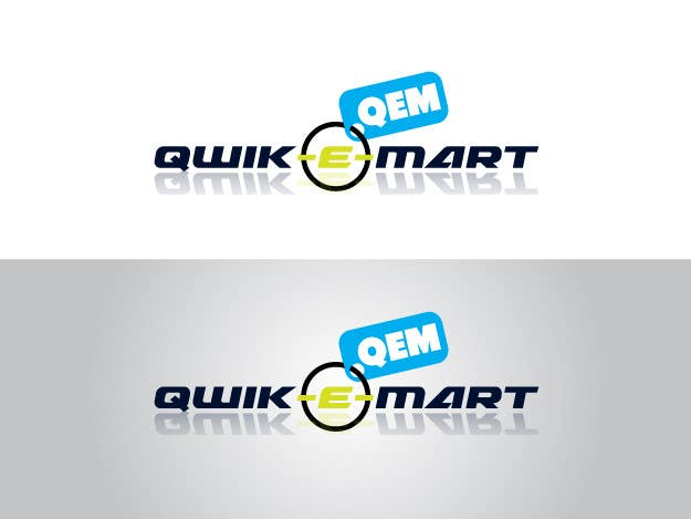 Конкурсна заявка №62 для Logo Design for Qwik-E-Mart