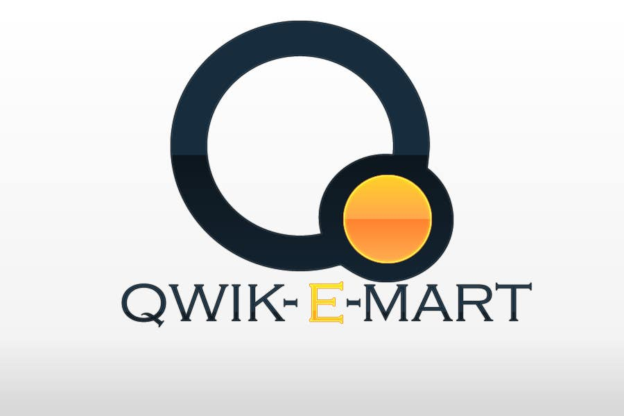 Конкурсна заявка №63 для Logo Design for Qwik-E-Mart