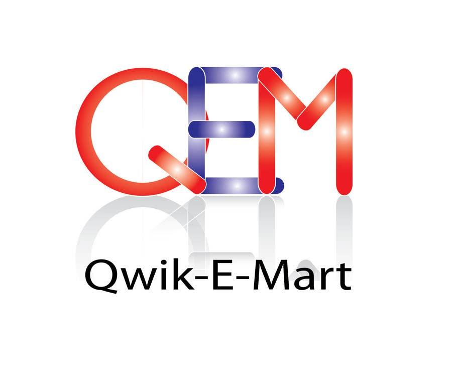 Participación en el concurso Nro.66 para Logo Design for Qwik-E-Mart