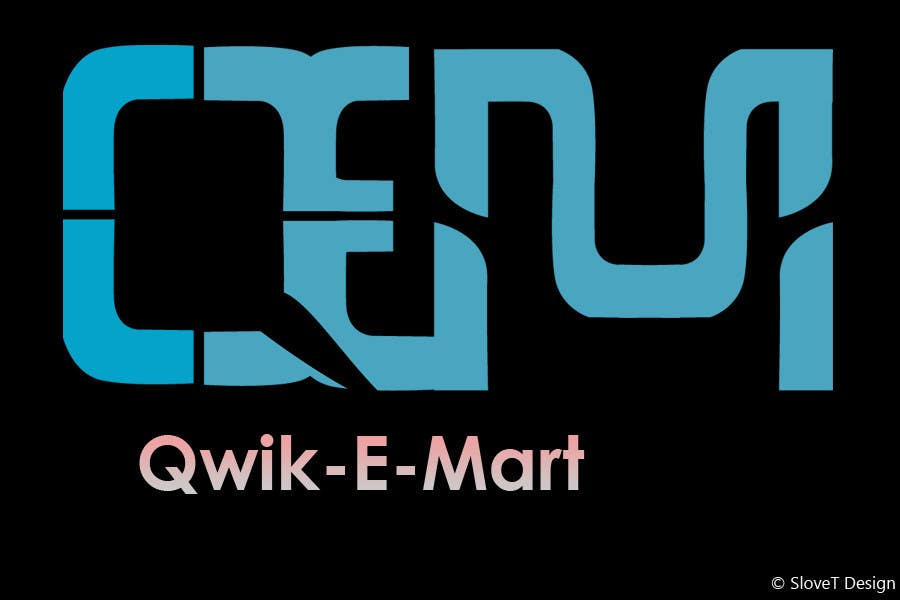 Contest Entry #180 for Logo Design for Qwik-E-Mart