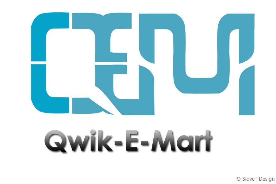 Конкурсна заявка №179 для Logo Design for Qwik-E-Mart