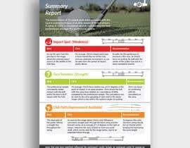 Nro 3 kilpailuun Create a Modern Looking Report Template käyttäjältä adarshdk
