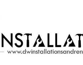 Nro 44 kilpailuun Logo Design for http://dwinstallationsandrenovations.com.au/ käyttäjältä jojohf