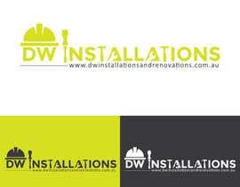 Nro 37 kilpailuun Logo Design for http://dwinstallationsandrenovations.com.au/ käyttäjältä arkwebsolutions