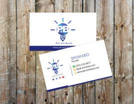 #36 for Business card AND letterhead design for a podcast - logo available by mamun1236943