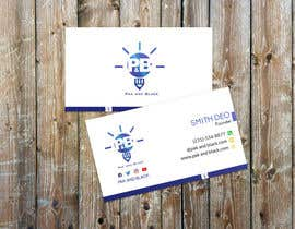 #38 for Business card AND letterhead design for a podcast - logo available by mamun1236943