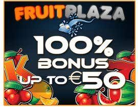 nº 10 pour Design a Banner for Fruitplaza.com par darkemo6876