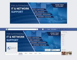 spa182010 tarafından Design a Facebook landing page XCD IT için no 8
