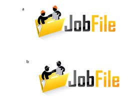 #348 для Logo Design for JobFile от weblogo