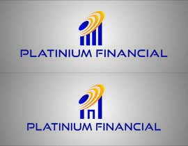 #9 for Concevez un logo for PLATINIUM FINANCIAL af TATHAE