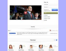 #6 cho New Home page for a website bởi webidea12