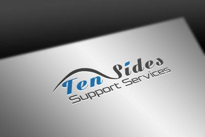 pvcomp tarafından Design a Logo for Ten Sides Support Services için no 24
