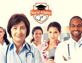 Nro 10 kilpailuun Nurse Academy seeking a website banner design käyttäjältä phthai
