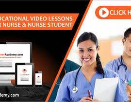 Nro 26 kilpailuun Nurse Academy seeking a website banner design käyttäjältä adview1