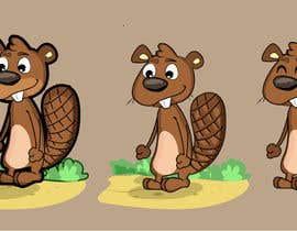 #42 cho Illustrate a Beaver Game Character bởi bluemerry04
