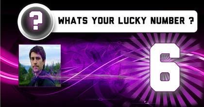 Bestimpact01 tarafından Create an exciting lucky Banner for your lucky number için no 8