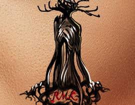 Nro 9 kilpailuun Design a hidden message in a tree Tattoo käyttäjältä Valadar