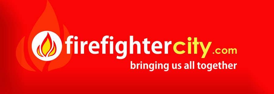 Contest Entry #4 for Logo Design for firefightercity.com