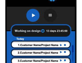 nº 10 pour Design a time tracking application par vinayvijayan