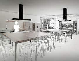 #11 for Interior design draft by hantig