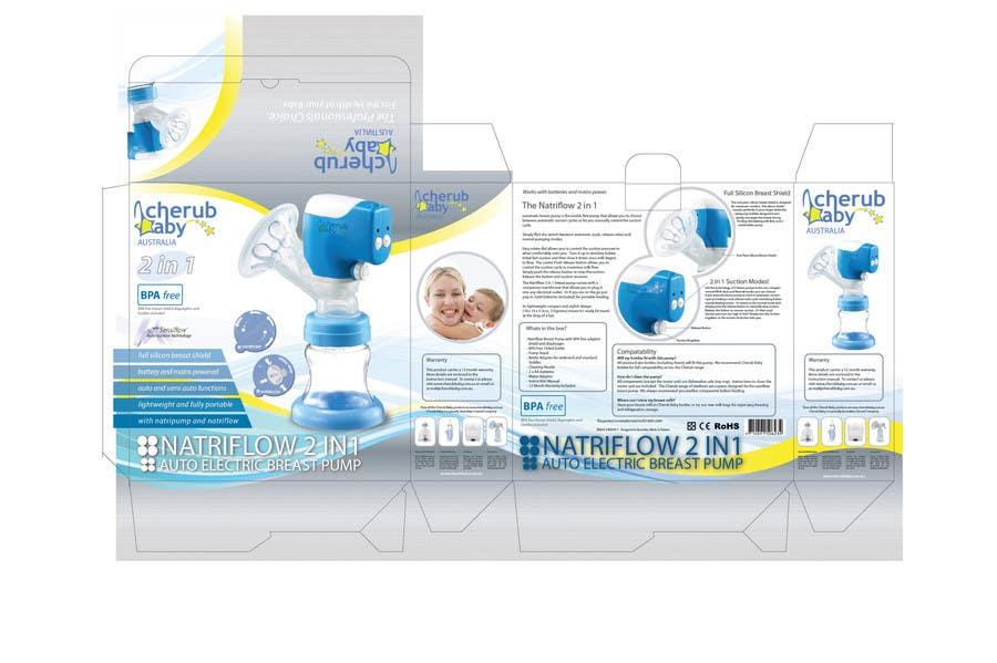 Konkurrenceindlæg #2 for Packaging Box Design for Cherub Baby