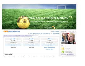 #7 untuk Design a Banner for Betting Website oleh AustralDesign