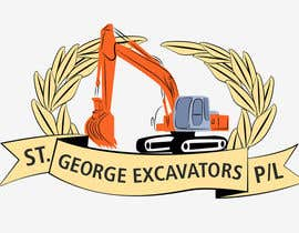 #4 untuk Graphic Design for St George Excavators Pty Ltd oleh barada0
