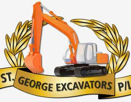 nº 13 pour Graphic Design for St George Excavators Pty Ltd par barada0