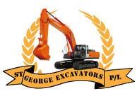 Graphic Design for St George Excavators Pty Ltd için Graphic Design5 No.lu Yarışma Girdisi