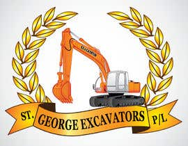 #44 untuk Graphic Design for St George Excavators Pty Ltd oleh fatamorgana
