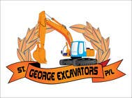 Graphic Design for St George Excavators Pty Ltd için Graphic Design28 No.lu Yarışma Girdisi
