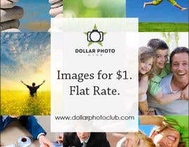 #57 untuk Design a Print Advertisement for Dollar Photo Club oleh christarad