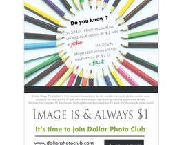 nº 48 pour Design a Print Advertisement for Dollar Photo Club par ArtCulturZ