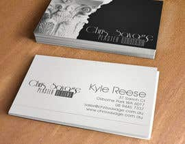 #24 untuk Business Card Design for Chris Savage Plaster Designs oleh DiegoLabrador