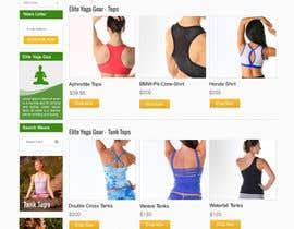 #134 cho Design a Website Mockup for Elite Yoga Gear bởi patrickjjs