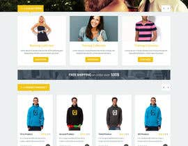 #69 para Design a Website Mockup for Elite Yoga Gear por mateuszwozniak