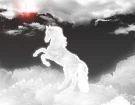 #19 para Design a picture of clouds in the shape of a horse por seguro