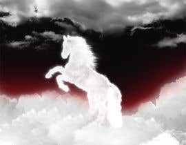 #29 para Design a picture of clouds in the shape of a horse por seguro