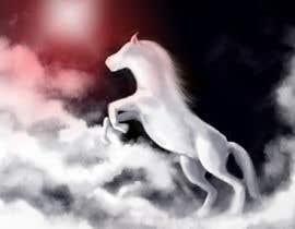 #37 untuk Design a picture of clouds in the shape of a horse oleh chubi91