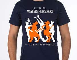 Nro 5 kilpailuun Design a T-Shirt (class reunion) käyttäjältä phthai