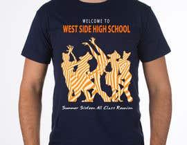 Nro 7 kilpailuun Design a T-Shirt (class reunion) käyttäjältä phthai