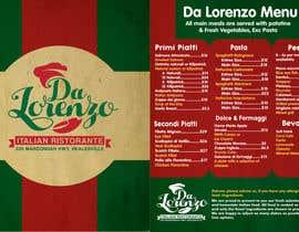 Nro 11 kilpailuun Italian Restaurant menu käyttäjältä OnePerfection