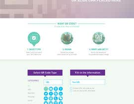 nº 46 pour Design a Website User Interface for QRcode generation company par noninoey