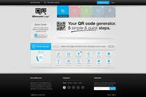 Contest Entry #7 for Design a Website User Interface for QRcode generation company