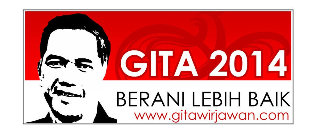 #138 for Design a Logo for an Indonesian President Candidate by topedesigns